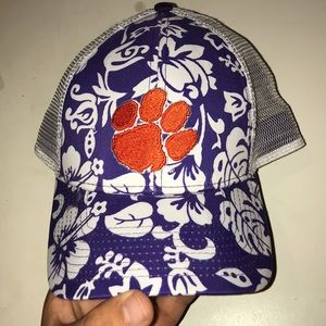 Clemson Hawaii print hat